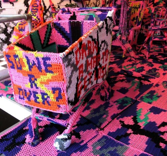 oeuvres d'art au crochet – Olek – 1