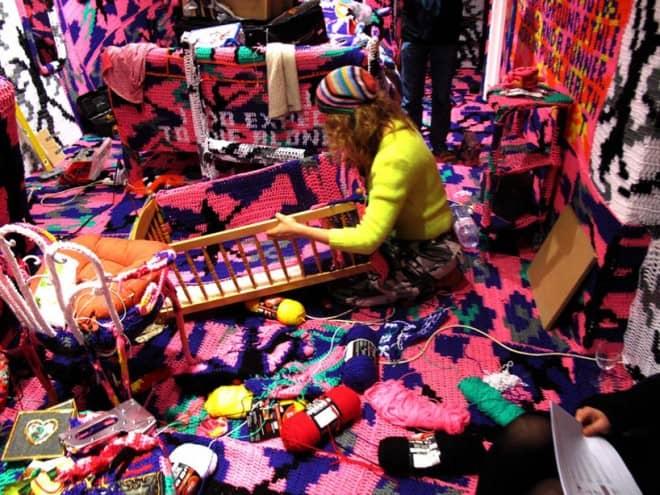 oeuvres d'art au crochet – Olek – 3