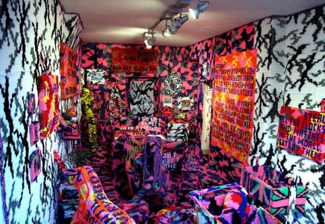 oeuvres d'art au crochet - Olek - 6