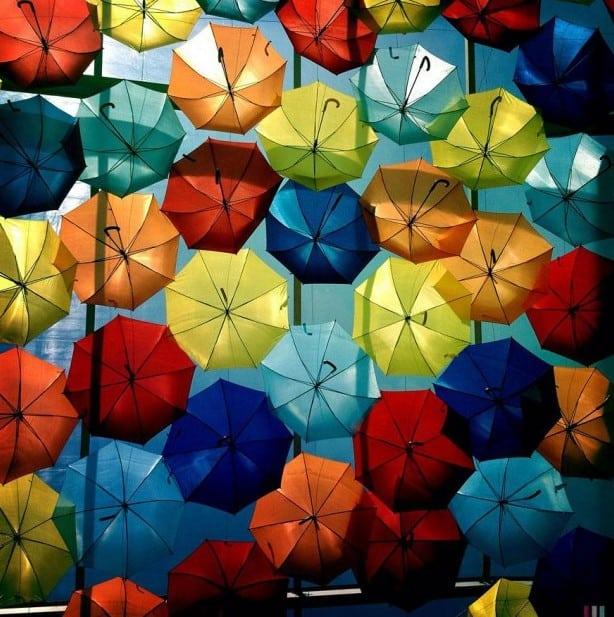 Parapluie rues d'Agueda – 1