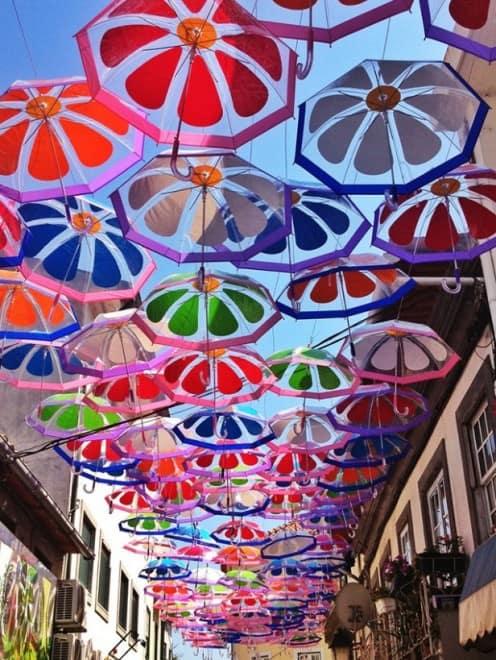 Parapluie rues d'Agueda – 3