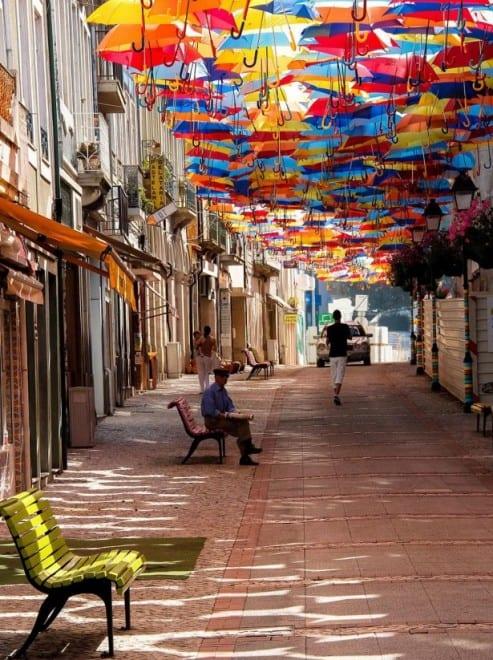 Parapluie rues d'Agueda – 4
