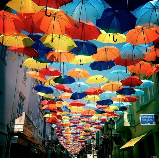 Parapluie rues d'Agueda – 6