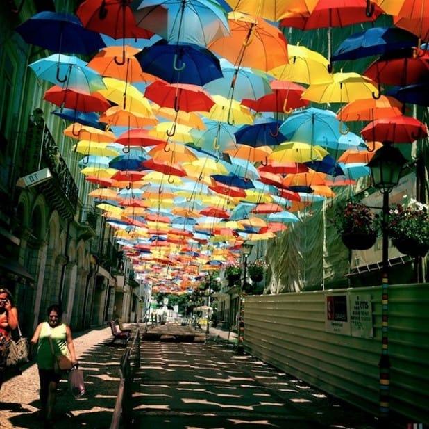 Parapluie rues d'Agueda – 7