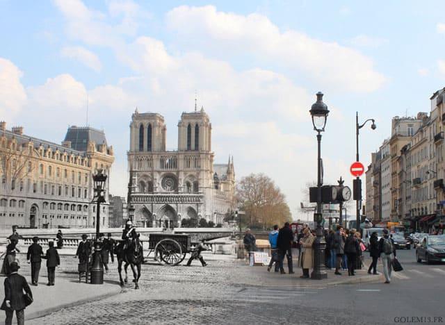 Paris 1900 à aujourd'hui, photographie - 1