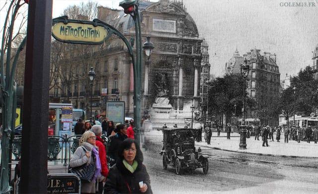 Paris 1900 à aujourd'hui, photographie – 2