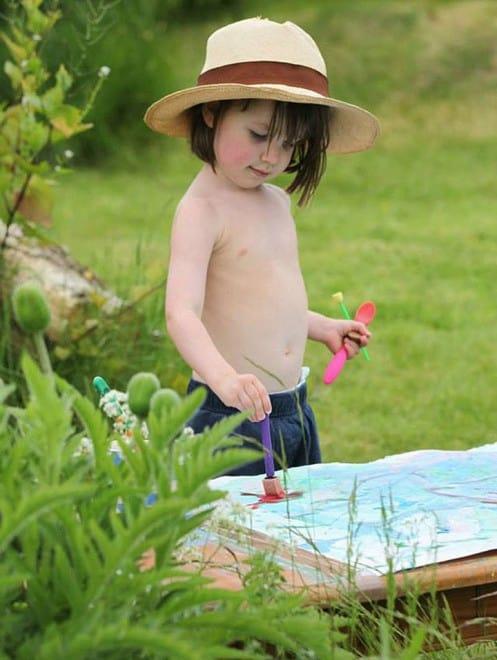 Petite fille autiste talentueuse – peinture – 10