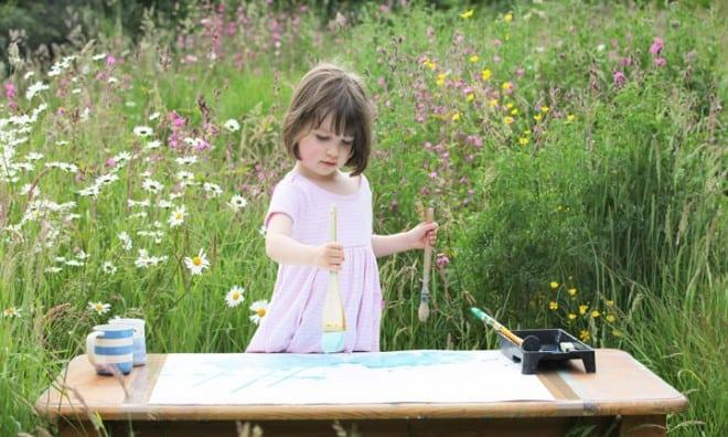 Petite fille autiste talentueuse – peinture – 11