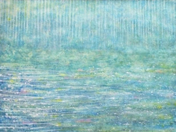 Petite fille autiste talentueuse – peinture – 2
