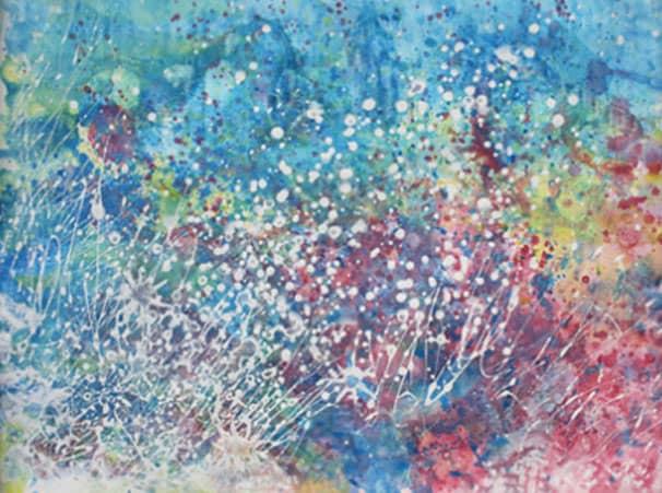 Petite fille autiste talentueuse - peinture - 4