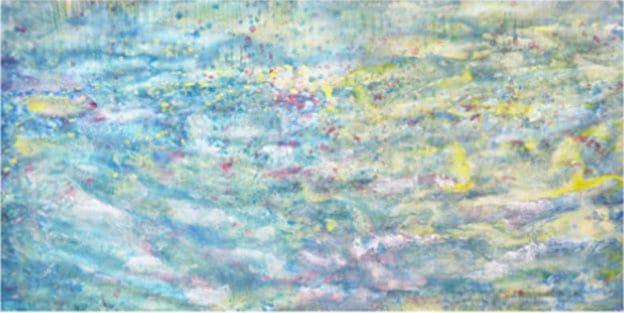 Petite fille autiste talentueuse – peinture – 8