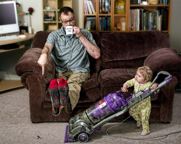 Photo avec sa fille - Art - 11