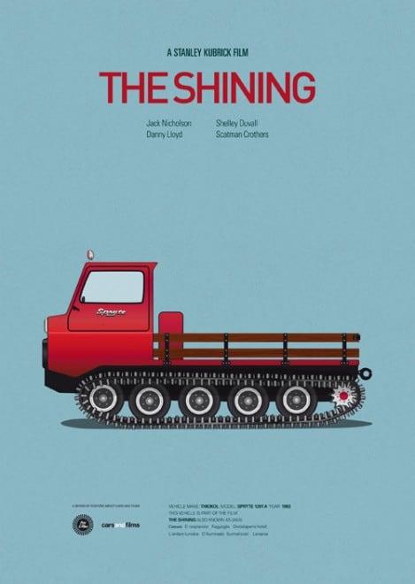 Poster voitures et films - 1