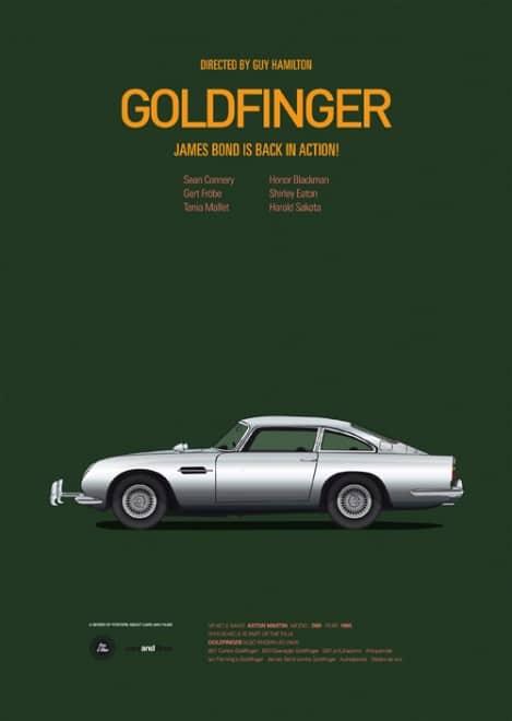 Poster voitures et films - 10