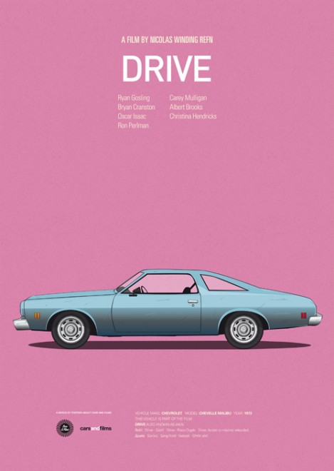 Poster voitures et films - 11