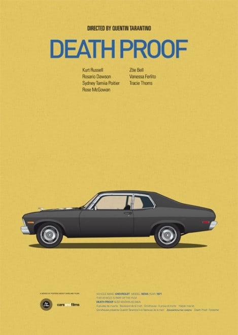 Poster voitures et films - 12
