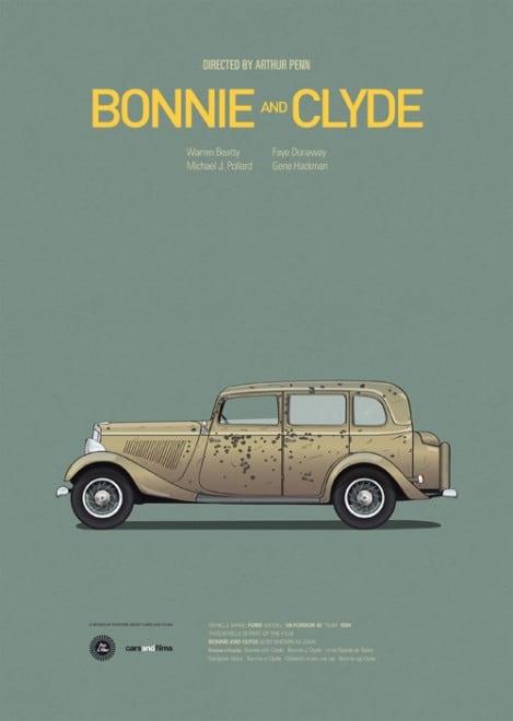 Poster voitures et films - 14