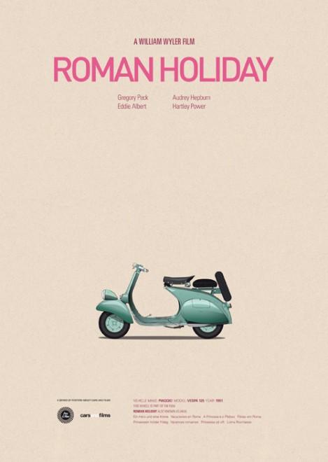Poster voitures et films - 4
