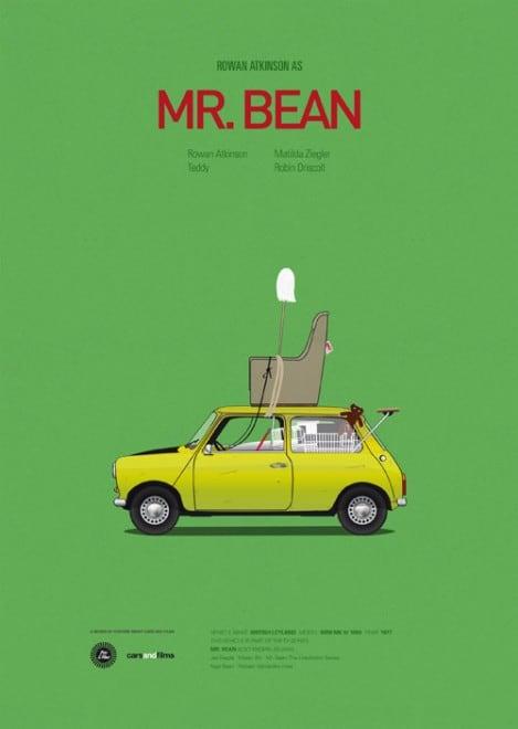 Poster voitures et films - 6