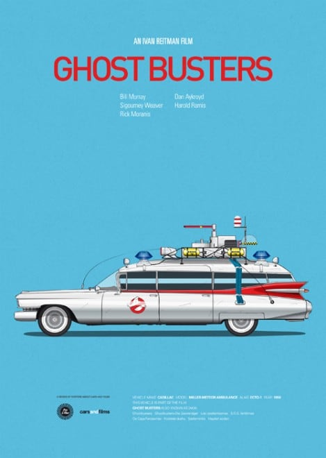 Poster voitures et films - 8