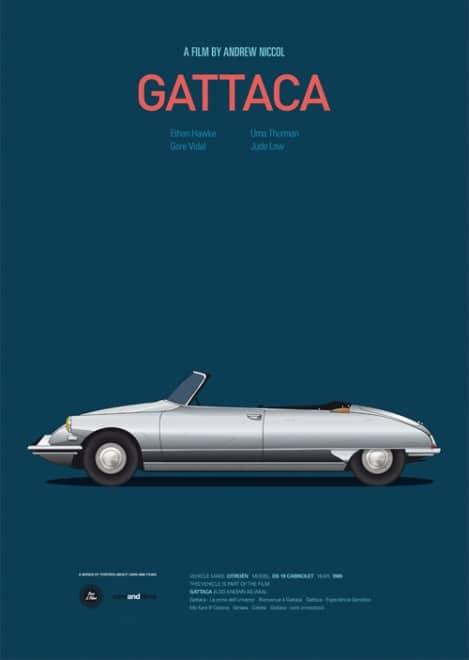 Poster voitures et films - 9