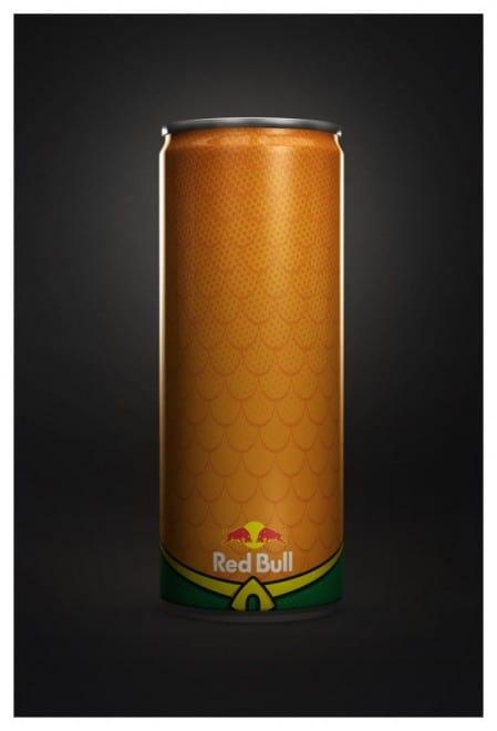 Red Bull en super héros -1