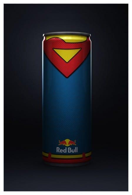 Red Bull en super héros -3