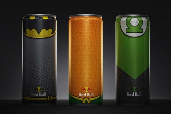 Red Bull en super héros - 6