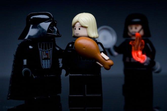 Scènes de film en LEGO - 1