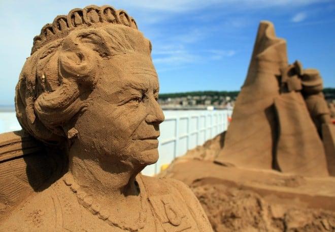 Sculptures de sable – 5
