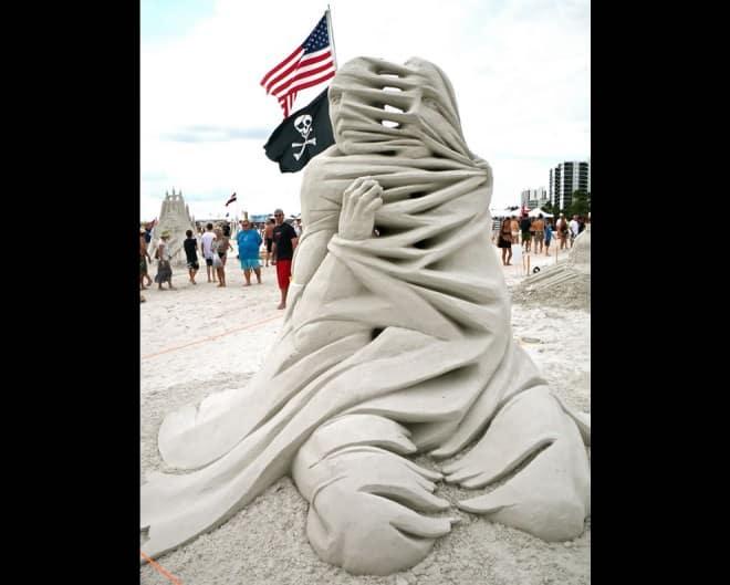Sculptures de sable – 6