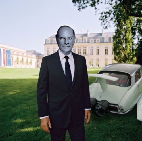 François Hollande – Fantomas