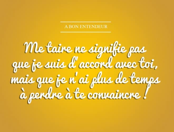 Me taire
